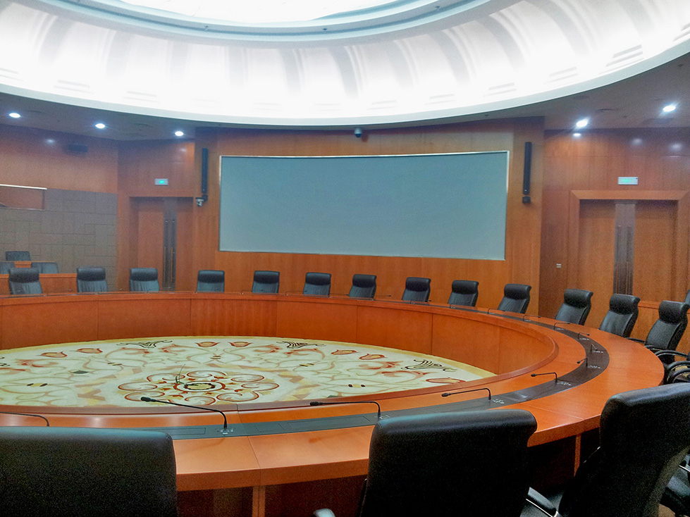 Qujiang conference room, China