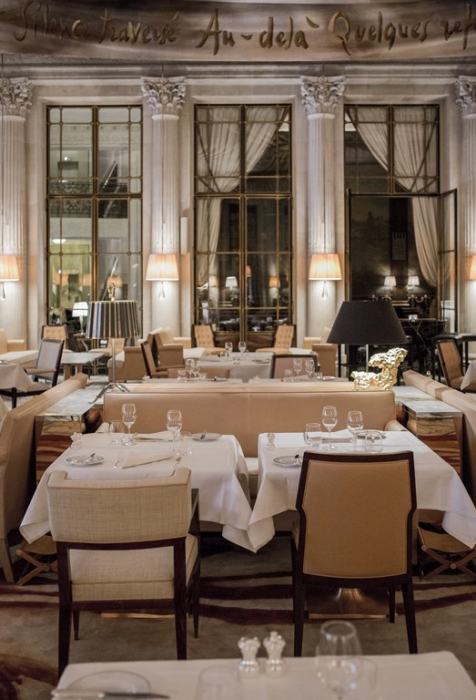 Luxury hotel Le Meurice, Paris, France